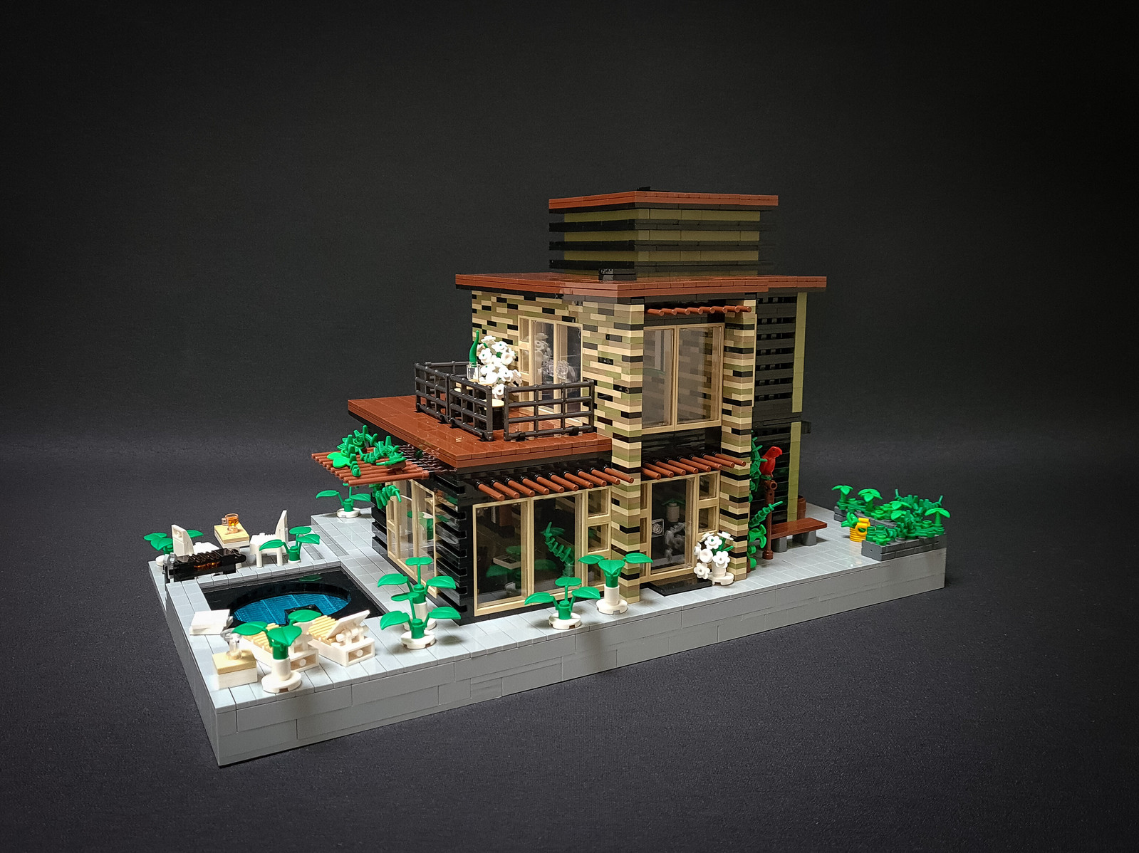 Greyplate House MOC I