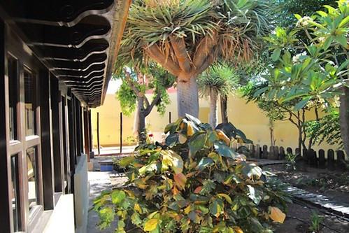 Patio interior de la Casa Rural El Cura de Agüimes