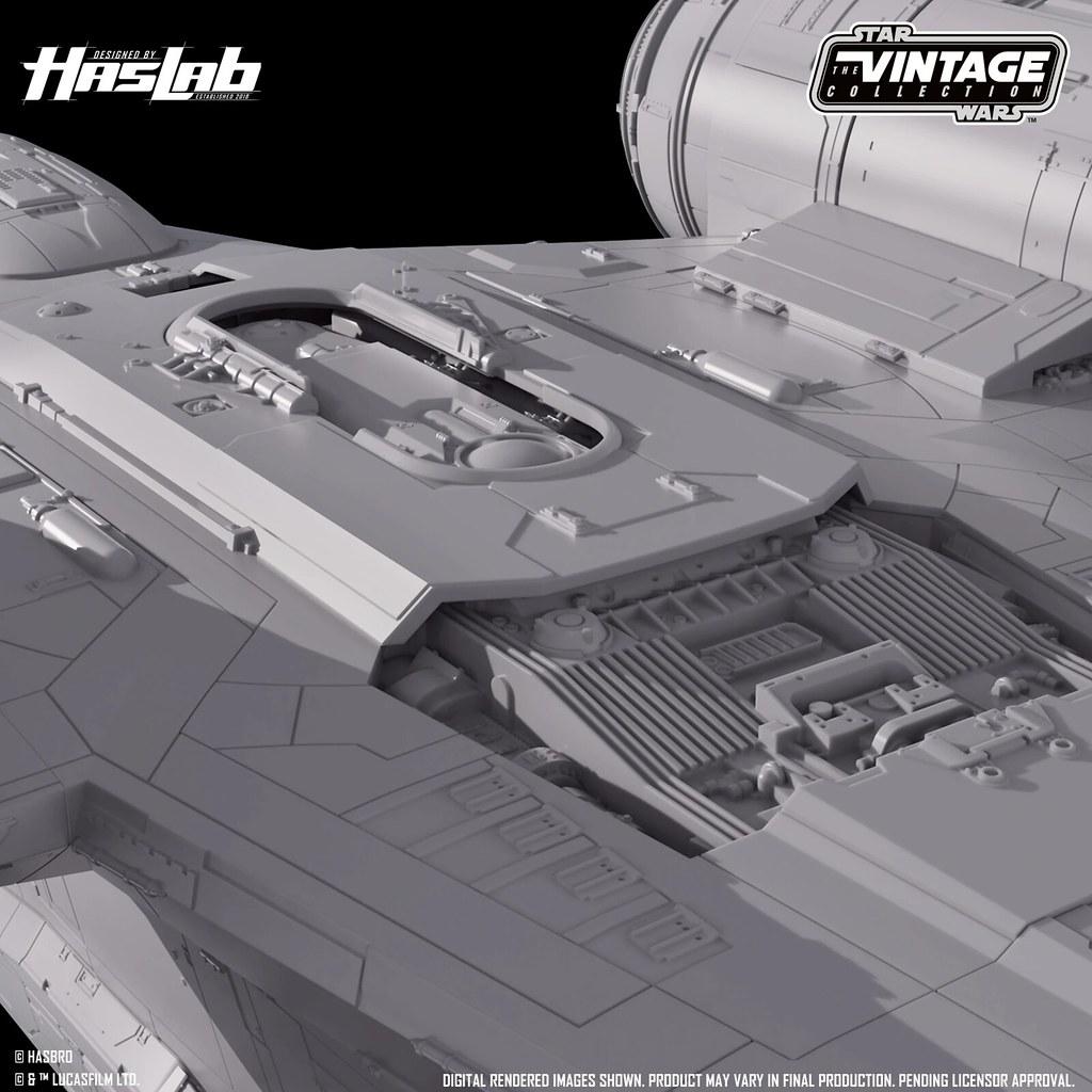 Hasbro《曼達洛人》長約76公分的「剃刀冠號」載具!上色官圖&募資計畫解鎖項目更新
