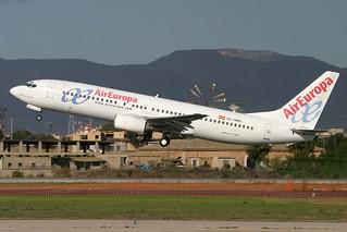 EC-HKQ. B-737/800. Air Europa. PMI.