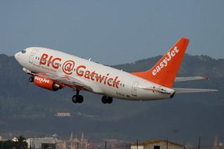 G-EZJD. B-737/700. EasyJet. PMI.