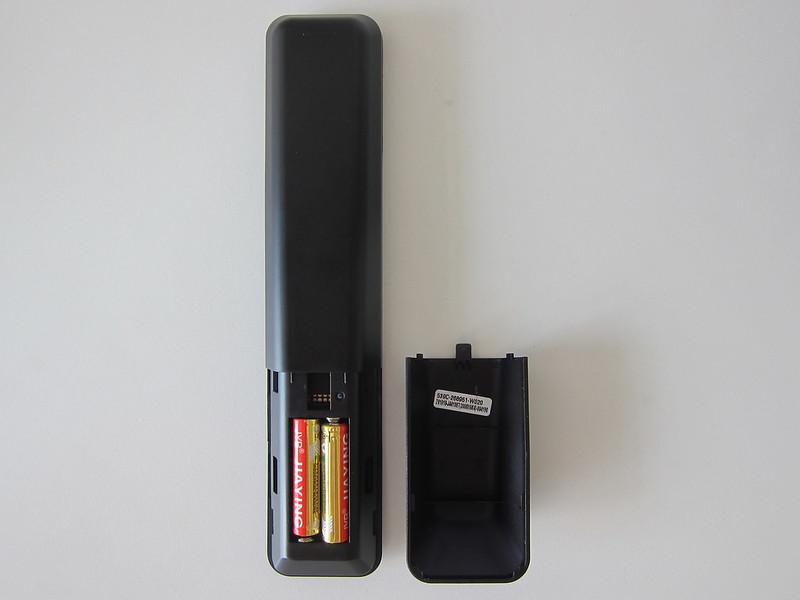PRISM+ Q55 TV - Remote - Back
