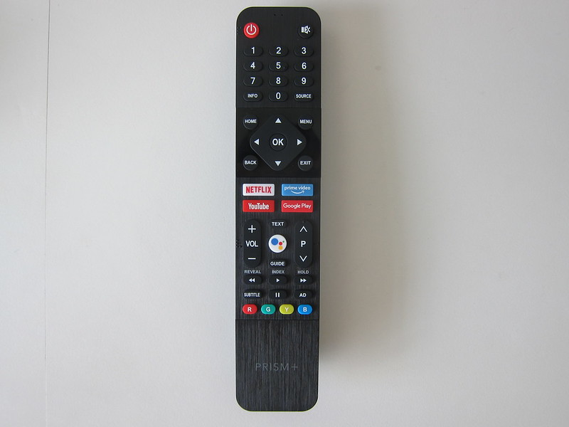 PRISM+ Q55 TV - Remote - Front