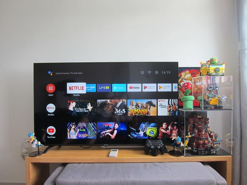 PRISM+ Q55 TV - Home