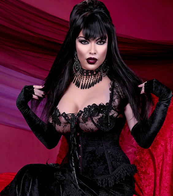 Gothic Princess or Vampire, you decide?