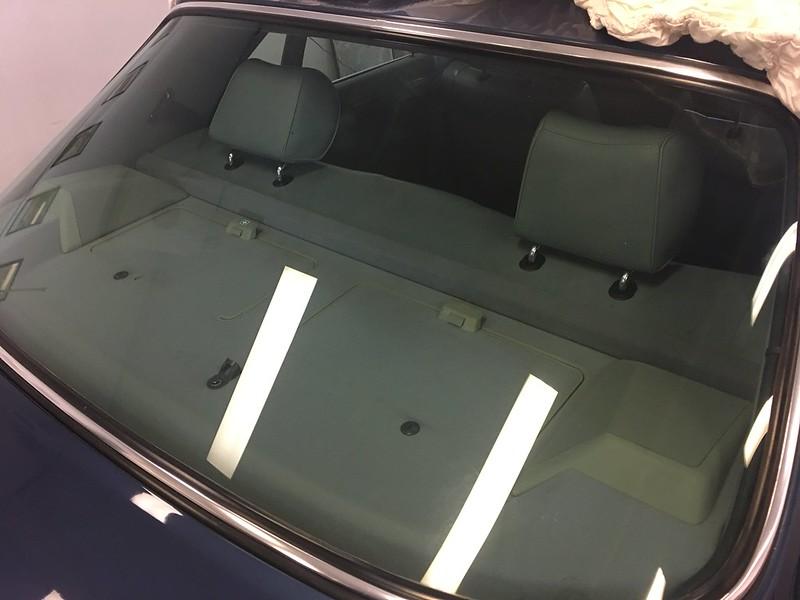 W126 power rear seat neater