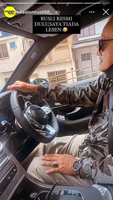Haqiem Rusli Hadiah Mercedes-Benz GLC 200