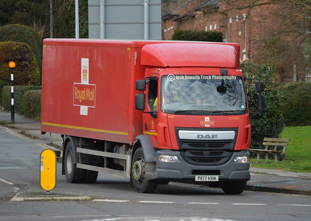 Royal Mail PE17 HXN At Welshpool