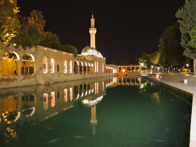 Rizvaniye Cami ve Balıklı Göl