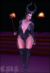[ LsR ] - Sexy Malefica Suit Big Fatpack +  Kalista Design  Blending Mascara Genus