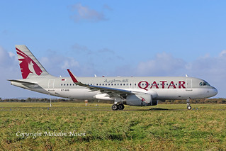 A320-232 A7-AHQ QATAR AIRWAYS 1