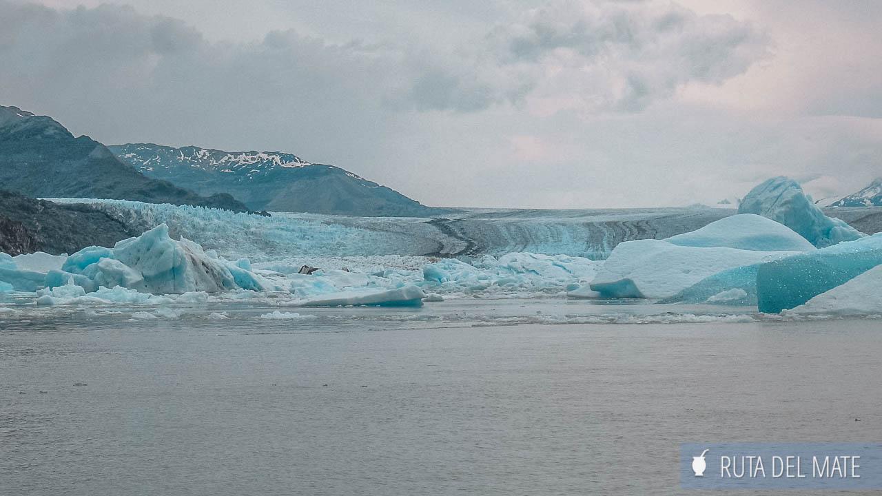 Glaciar Upsala desde más cerca