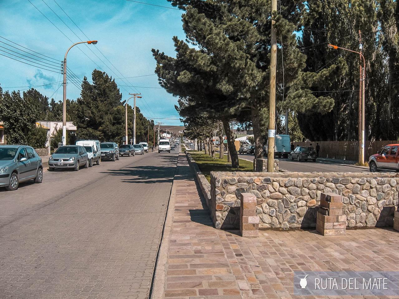 Avenida del Libertador El Calafate