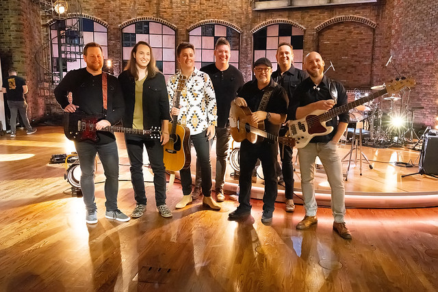 HENDERSONVILLE, TN - SEPTEMBER 15:  The Sound during the 2020 Dove Awards at TBN Studios on September 15, 2020 in Hendersonville, Tennessee.  (Photo by Don Claussen/Trap The Light Photography for Dove Awards)