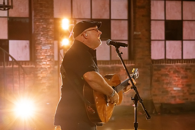 HENDERSONVILLE, TN - SEPTEMBER 15:  The Sound performs onstage during the 2020 Dove Awards at TBN Studios on September 15, 2020 in Hendersonville, Tennessee.  (Photo by Don Claussen/Trap The Light Photography for Dove Awards)