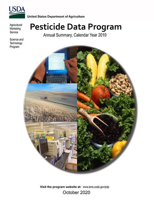 USDA Pesticide Data Program Annual Summary, Calendar Year 2019 cover
