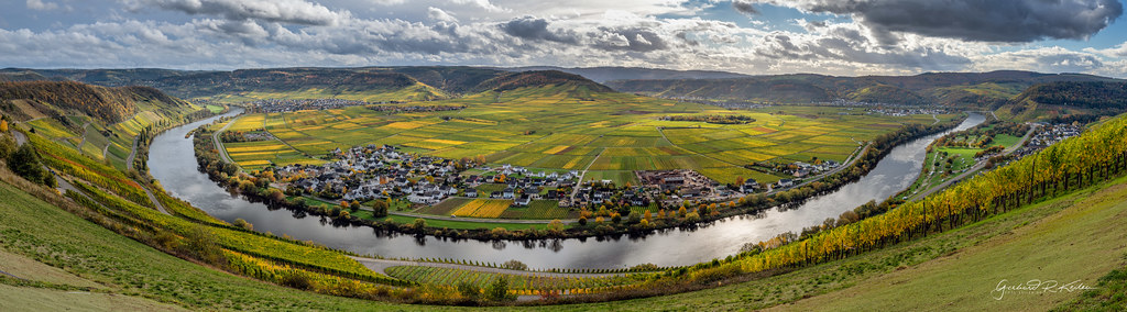 Golden October on the river Moselle!