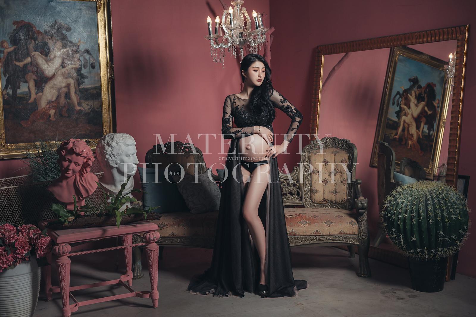 《孕婦寫真》Mimiko / 攝影師 Eric Yeh / 良大攝影工作室