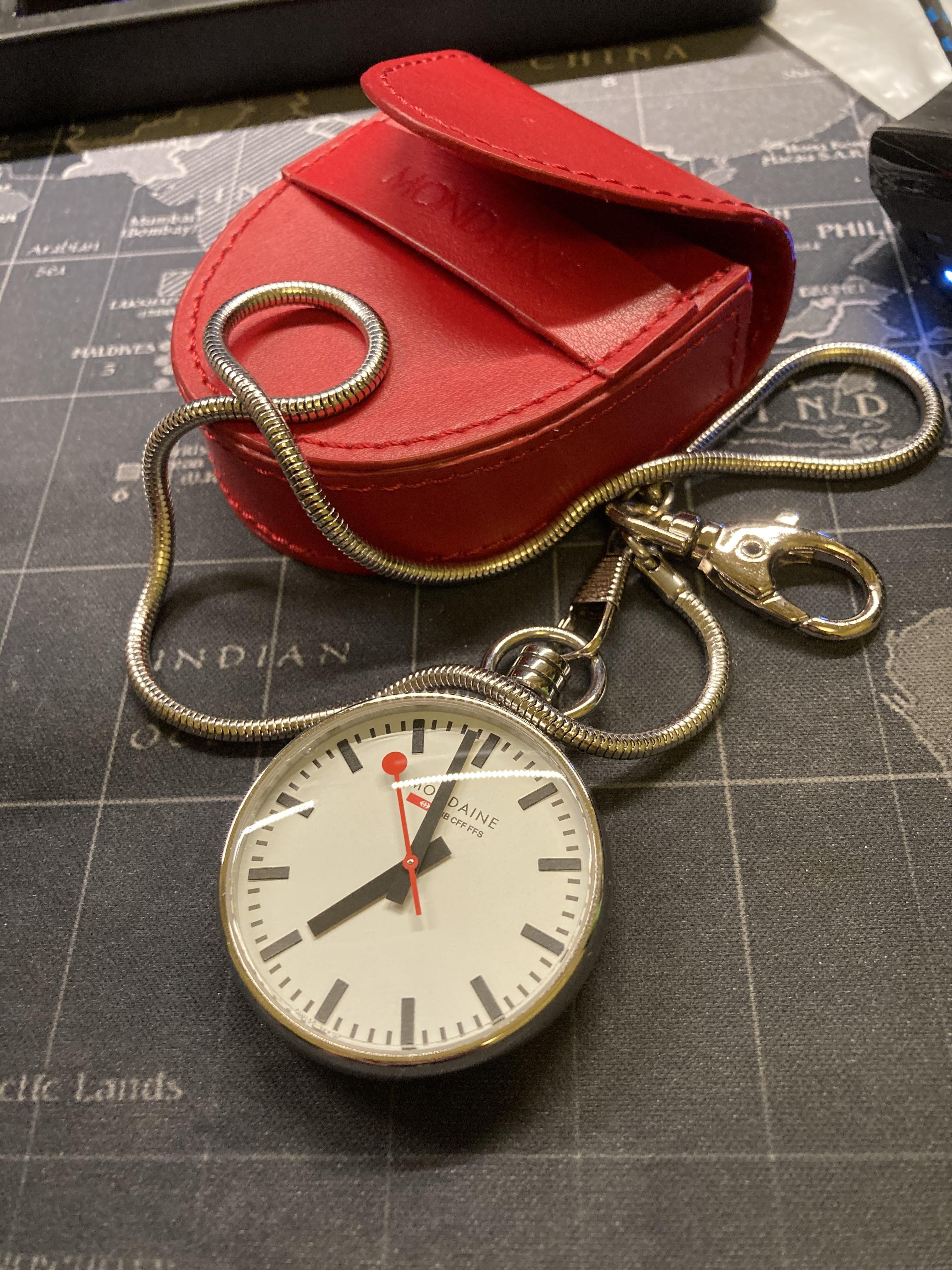 [賣錶] MONDAINE 瑞士國鐵經典懷錶