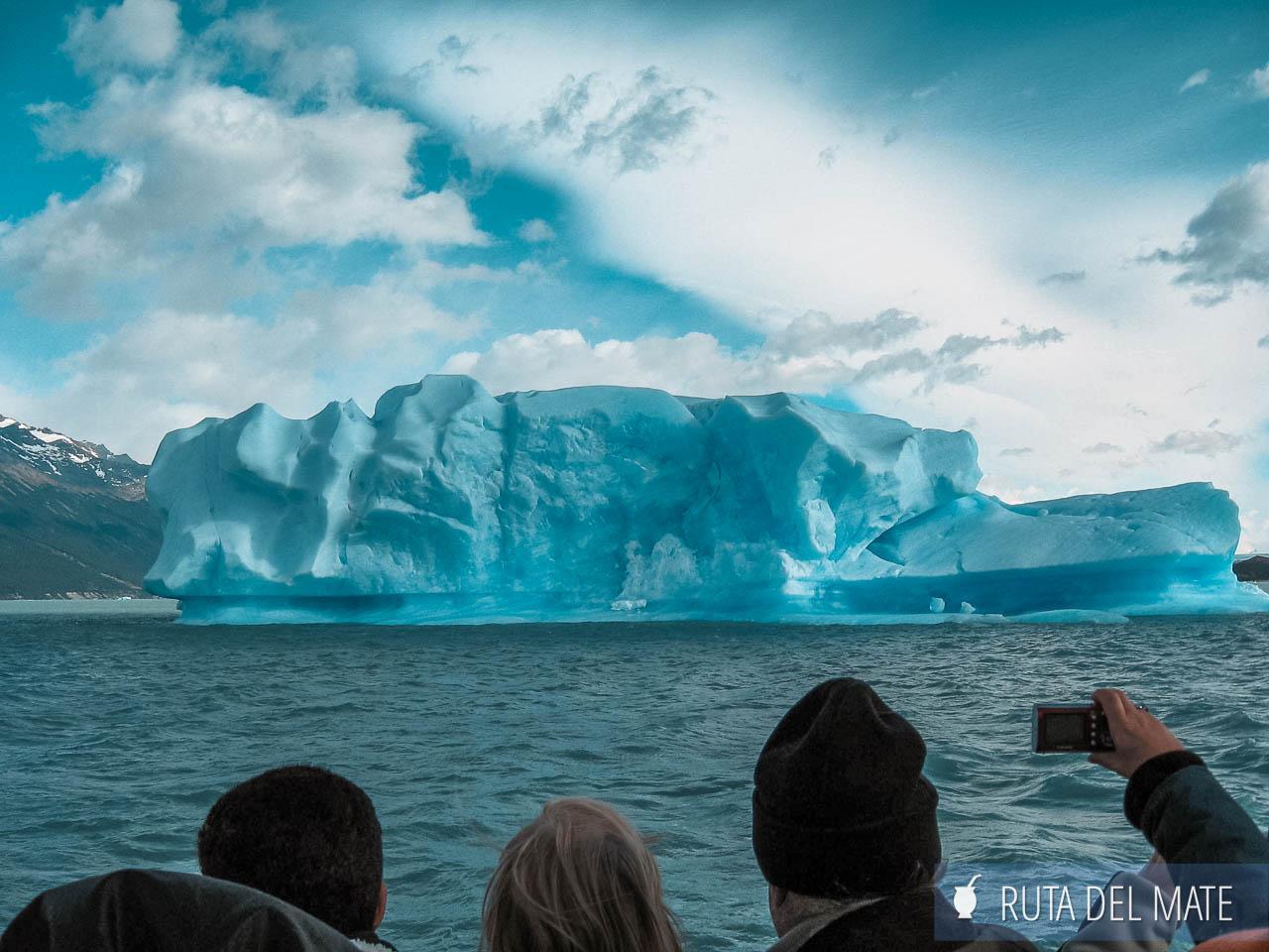 Tempanos de hielo en el lago Argentino