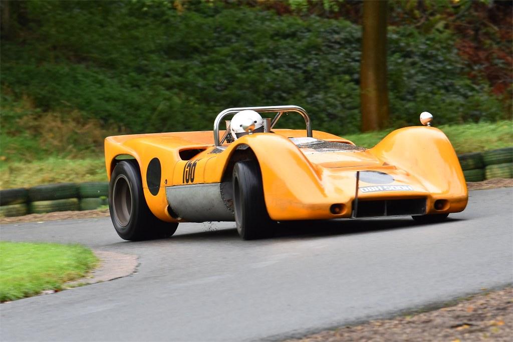 Rupert Marks' McLaren M12 at Prescott (D Garnett)