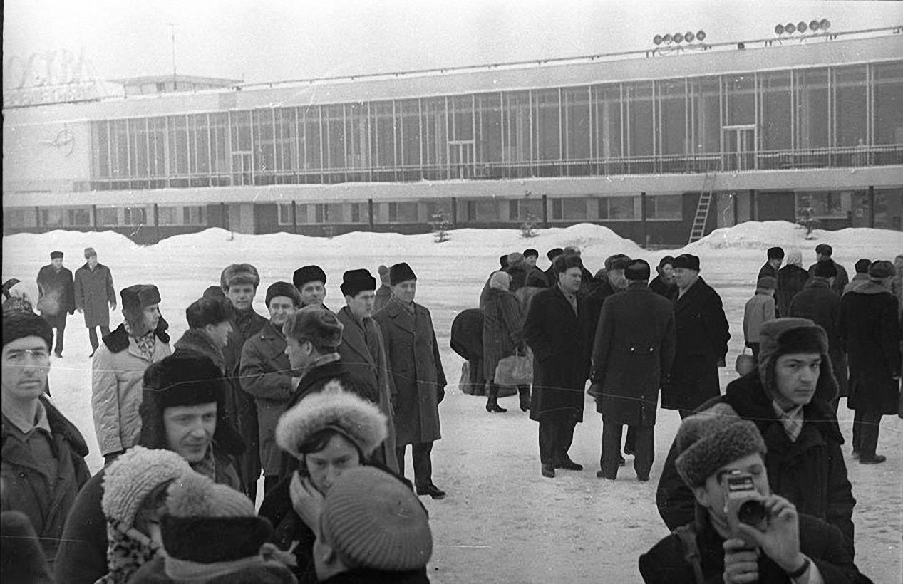 1967. Эвакуация детей (советско-китайский конфликт). Аэропорт Шереметьево