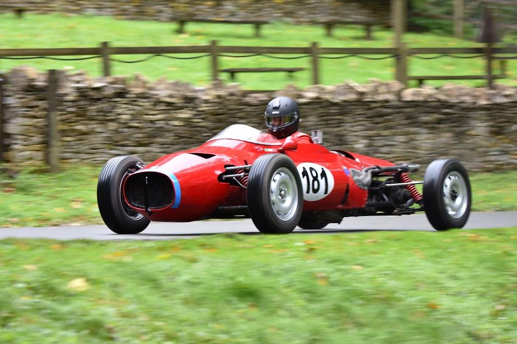The Lancia Aurelia of Dominic Hentall at Prescott (D Garnett)