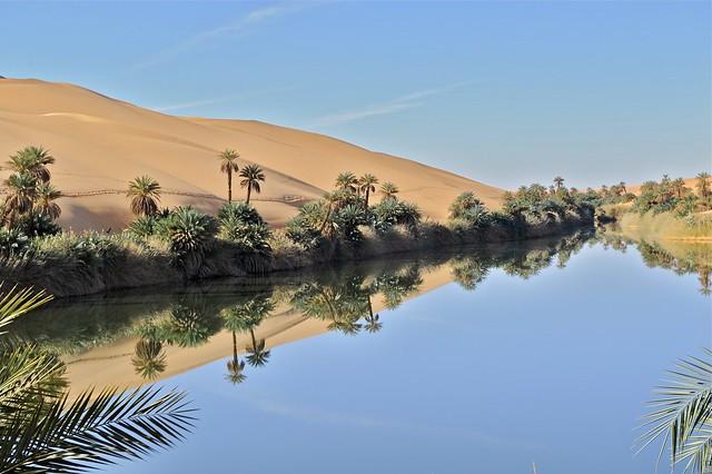 LIBYA - Ubari oasis