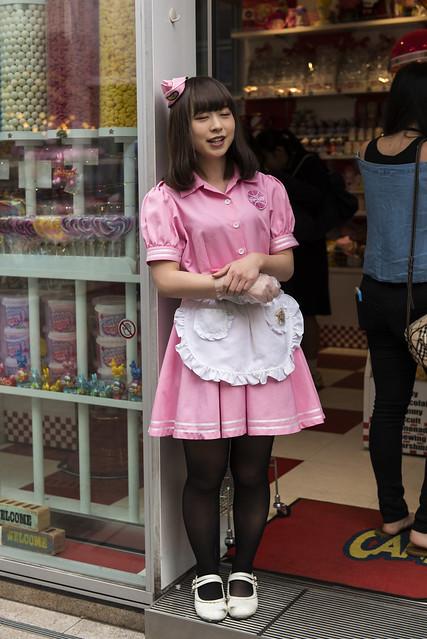 Atrayendo clientes (Japan people)