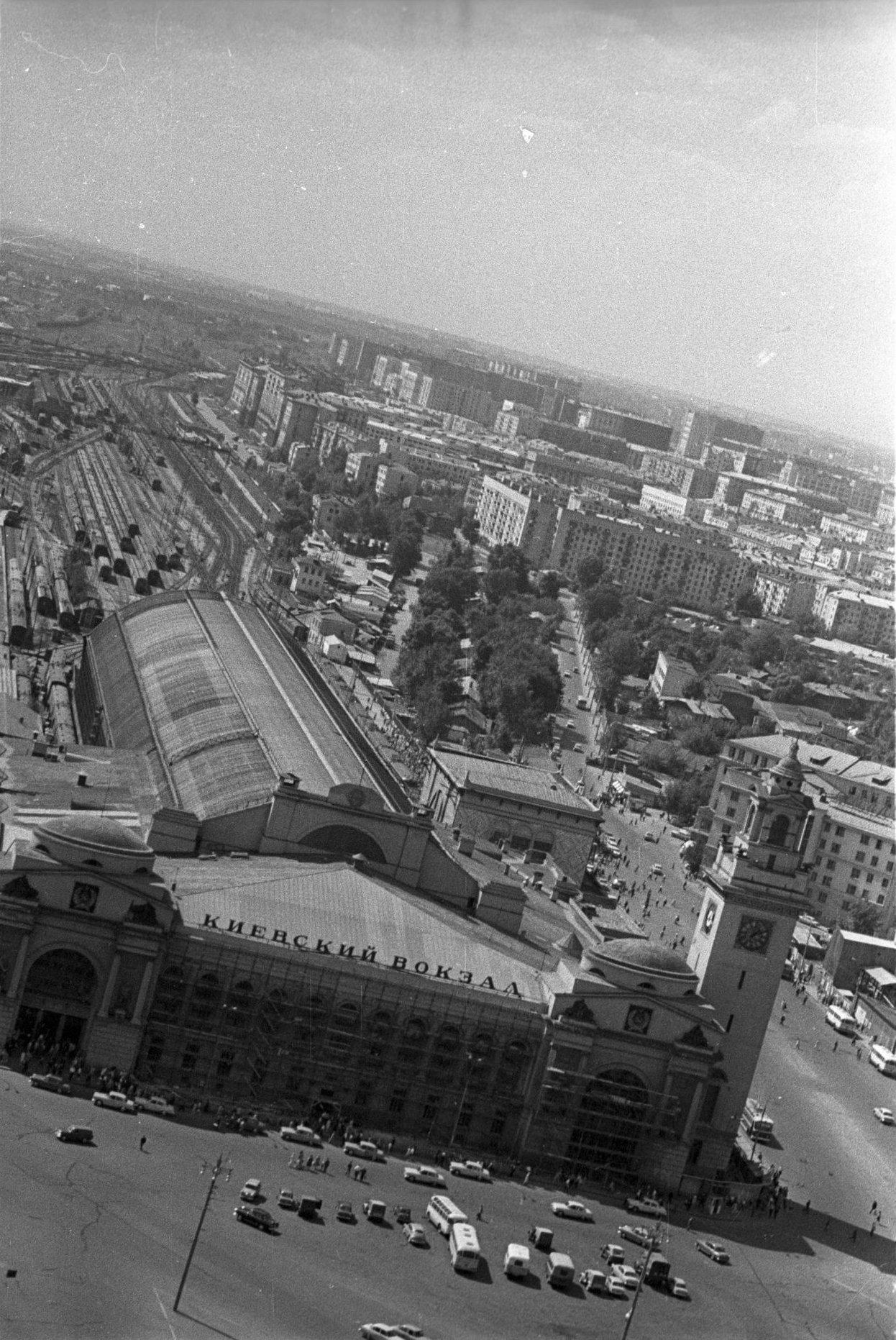 1967. Киевский вокзал