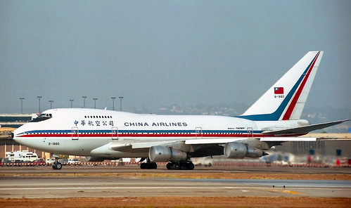 B-1880 Boeing 747SP China Airlines