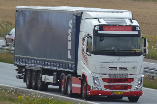 Volvo FH13 500 - DK Transport ApS - Pema - DK BN 54 163