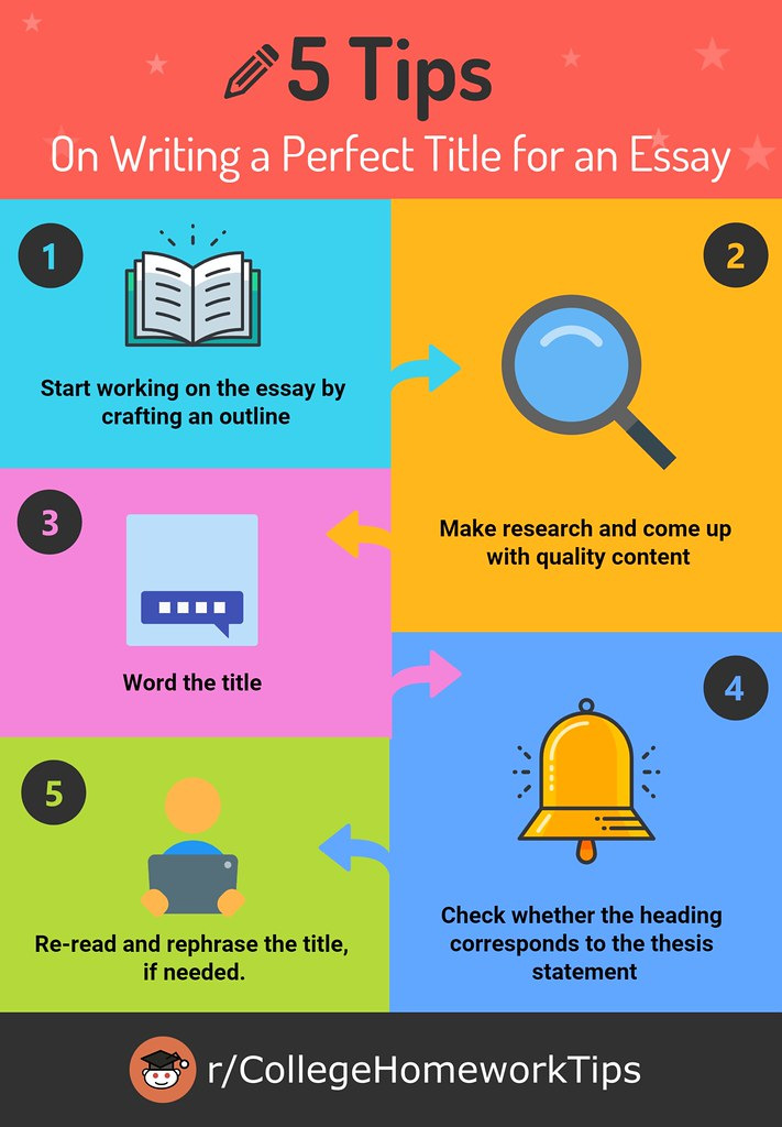 five tips on how to title an essay