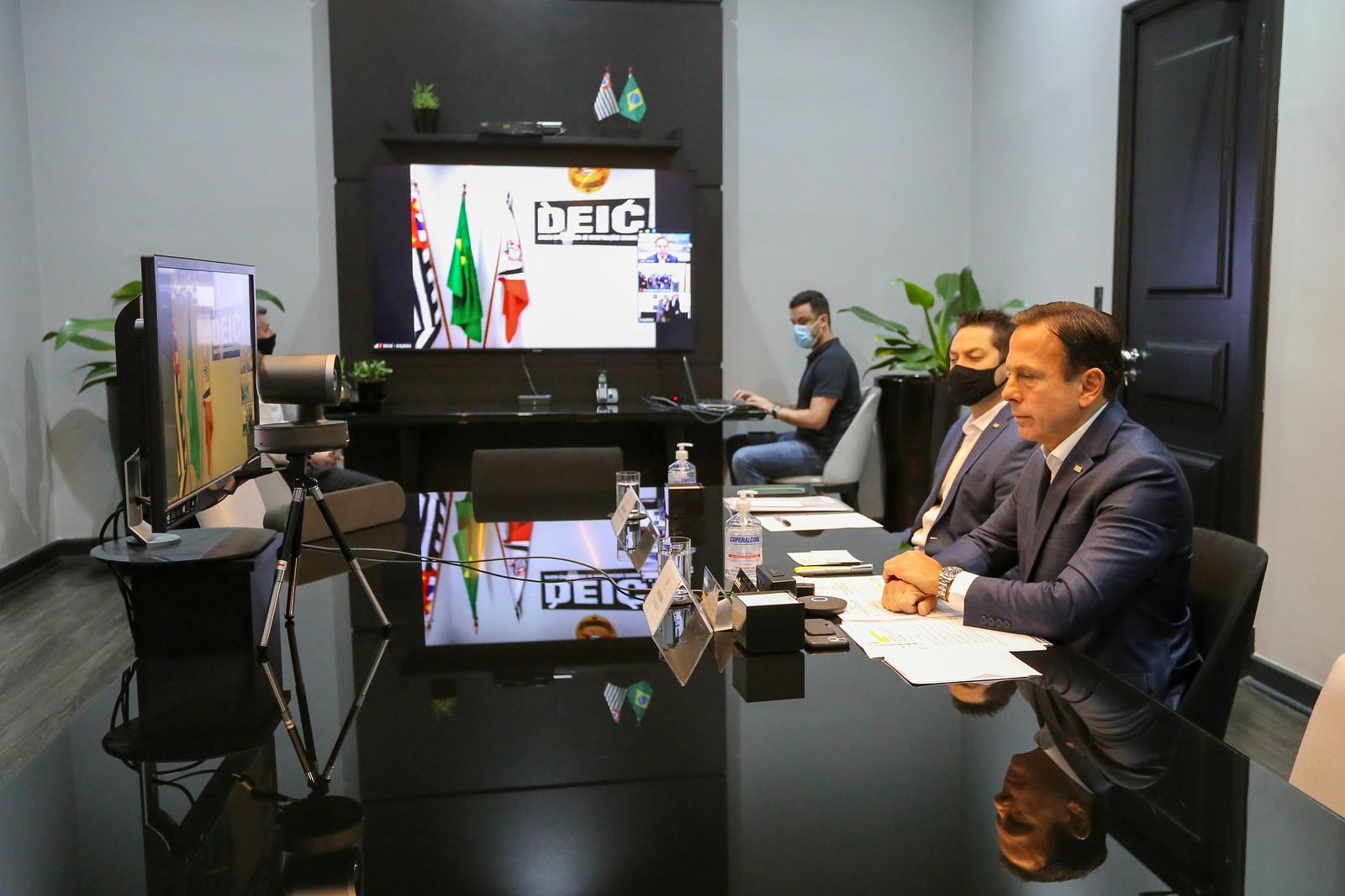 Inauguração virtual da DEICs de Araçatuba e Presidente Prudente