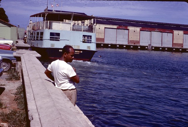 SSG127--Ferry at dock, 1967