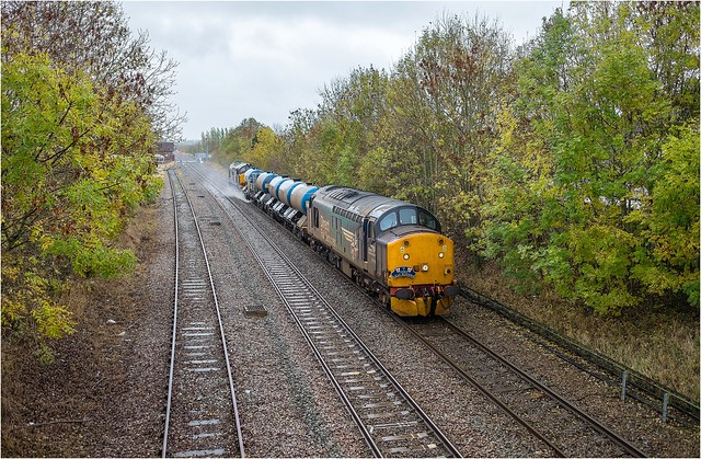 37716 + 37423. The 'York Leaf Busters'.