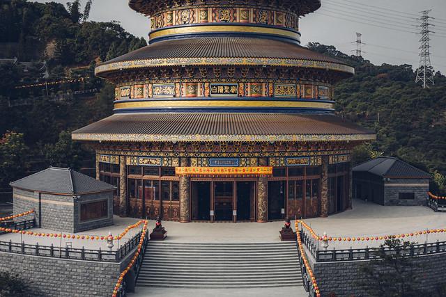 白陽聖廟 空拍|金陵山宗教藝術園區