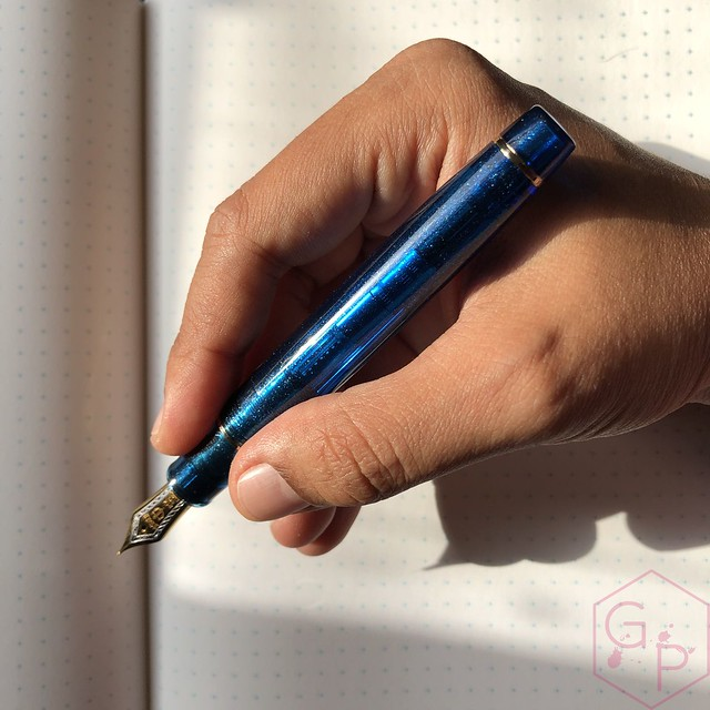 Sailor Pro Gear Cocktail Kure Azur Fountain Pen 9