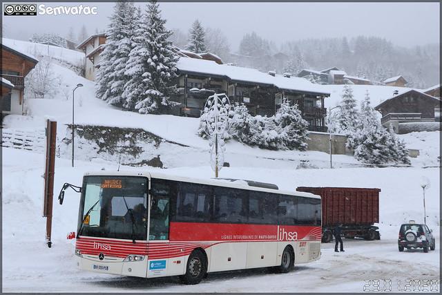 Mercedes-Benz Intouro – SAT Thonon (SA des Autos Transports du Chablais et du Faucigny) / Auvergne-Rhône-Alpes / Lihsa (Lignes Interurbaines de Haute-Savoie) / Balad'Aulps Bus