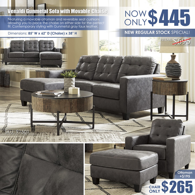Venaldi Gunmetal Sofa with Movable Chaise_91501-18-T240_Layout