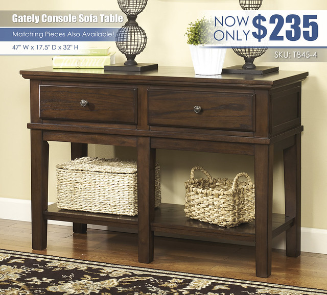 Gately Console Sofa Table_T845-4-SD