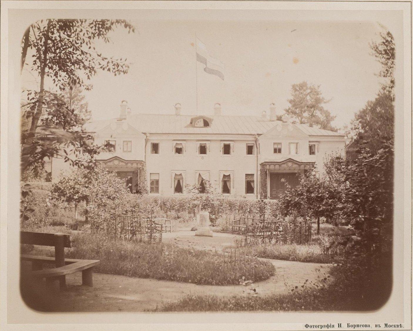 03. Вид на усадебный дом в Плещеево