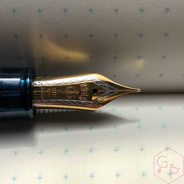 Sailor Pro Gear Cocktail Kure Azur Fountain Pen 11