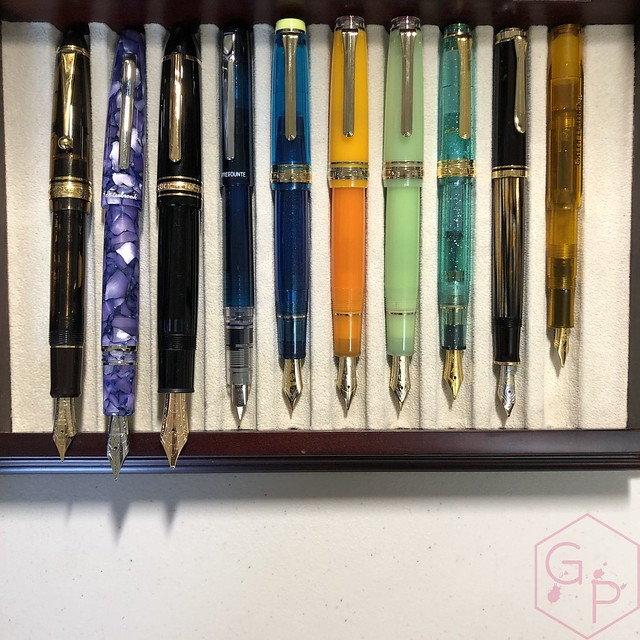 Sailor Pro Gear Cocktail Kure Azur Fountain Pen 3
