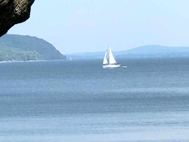 Sailing on Lake Champlain