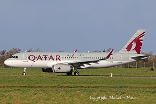A320-232 A7-AHQ QATAR AIRWAYS 2