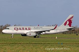 A320-232 A7-AHQ QATAR AIRWAYS 2