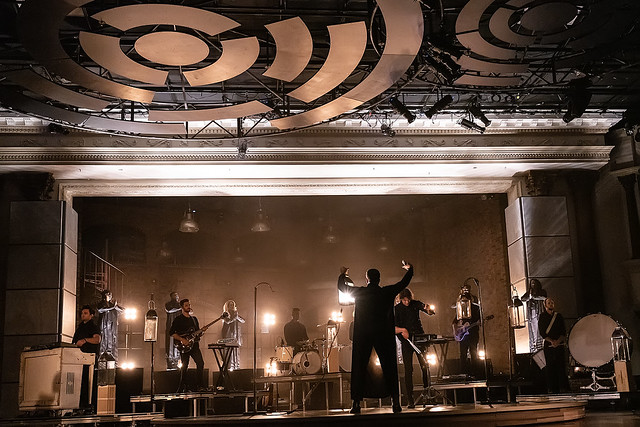 HENDERSONVILLE, TN - SEPTEMBER 17:  WRLDFMS Tony Williams & for KING & COUNTRY performs onstage during the 2020 Dove Awards at TBN Studios on September 17, 2020 in Hendersonville, Tennessee.  (Photo by Don Claussen/Trap The Light Photography for Dove Awar