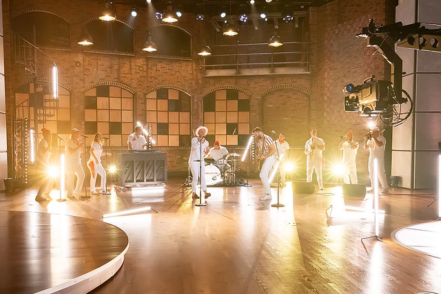HENDERSONVILLE, TN - SEPTEMBER 14: Apollo LTD performs onstage during the 2020 Dove Awards at TBN Studios on September 14, 2020 in Hendersonville, Tennessee.  (Photo by Don Claussen/Trap The Light Photography for Dove Awards)