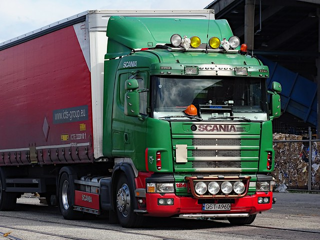 Scania 124L 400 -1997 - ICTS-Group